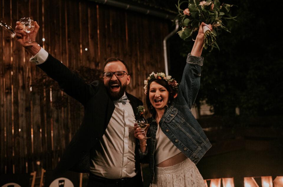 Sylwia i Maciej    wesele w stodole